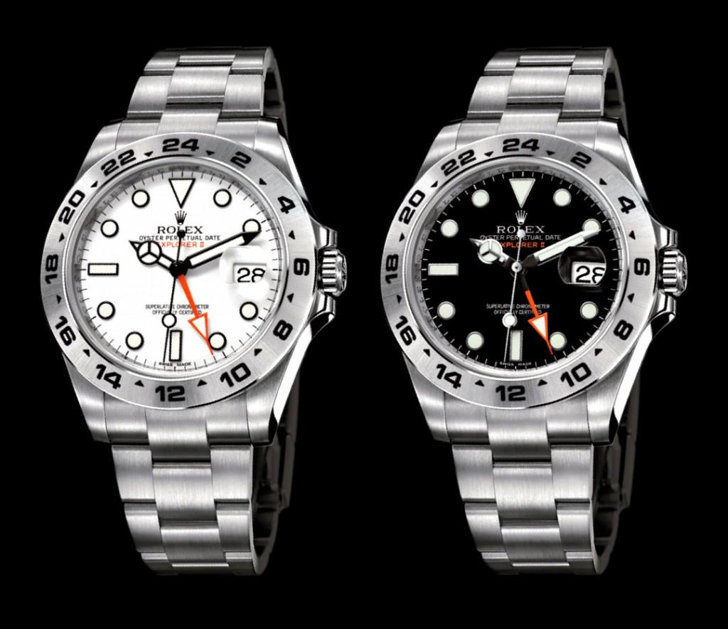 Rolex Explorer II White and Black