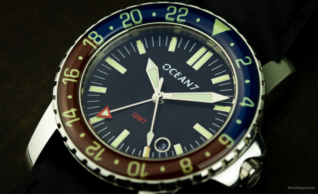 Ocean7 LM5 GMT Detail