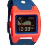 Nixon-LODOWN-blue-red-watch