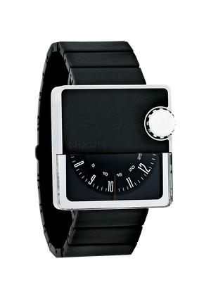 Nixon-the-murf-wrist-watch-black