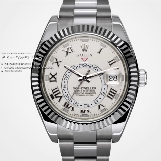 Rolex-Sky-Dweller-Silver-Watch