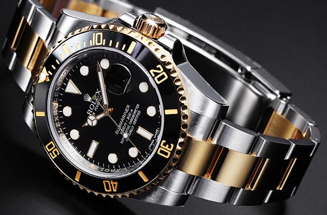 rolex-submariner-black-gold-watch