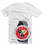 Ferrari Red Watch White T-Shirt