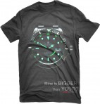Dark Gray Rolex Night T-Shirt