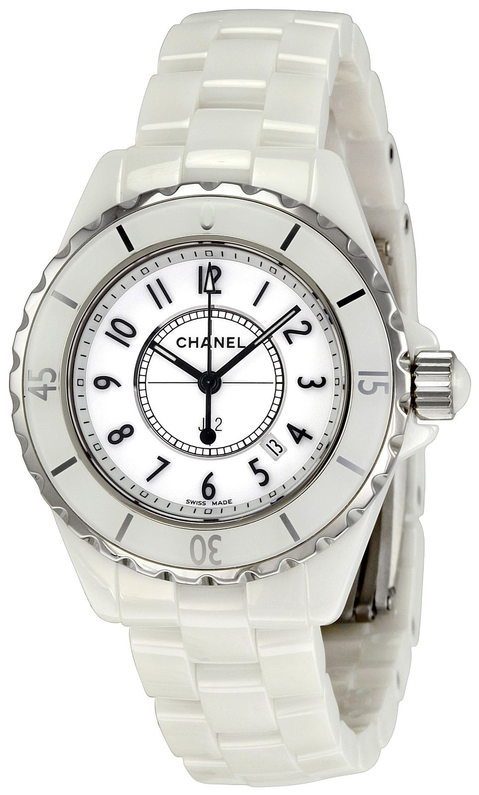 Chanel J12 Quartz Ladies Watch H0968