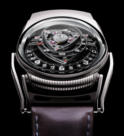 An Explosive Experimental Luxury Watch: The C3H5N3O9